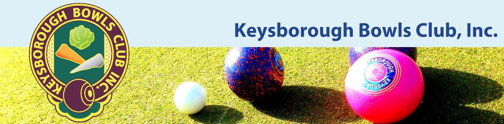 Keysborough Bowls Banner
